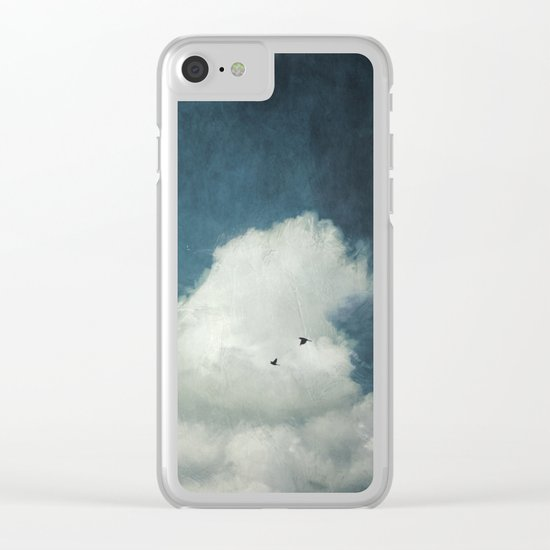 the Cloud Clear iPhone Case