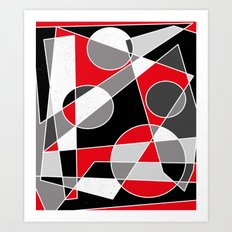 Abstract #101 Art Print