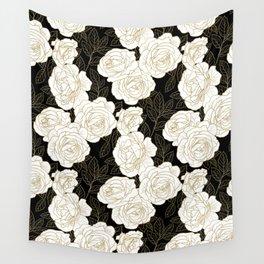 ROSE GARDEN Wall Tapestry