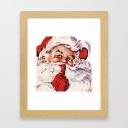 Santa20151101 Framed Art Print