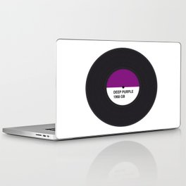 DEEP PURPLE MUSIC COLOUR Laptop & iPad Skin