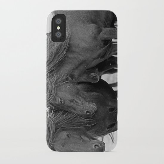 PONIES IN THE WIND iPhone Case