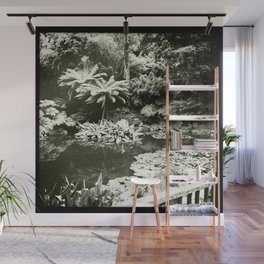The Lost Gardens of Heligan in Black and White Wall Mural