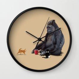 I Should, Koko (Colour) Wall Clock