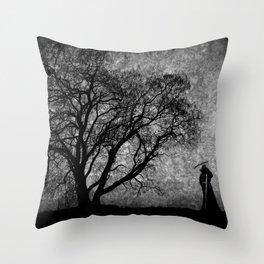 Boundaries Between Throw Pillow