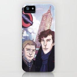London Johnlock iPhone Case