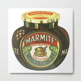 Marmite - Retro Metal Print