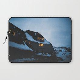 Timberline Lodge Glow Laptop Sleeve