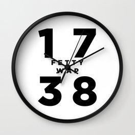 1738 Fetty Wap Wall Clock