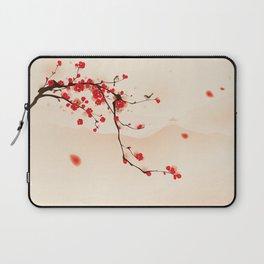 Oriental plum blossom in spring 003 Laptop Sleeve