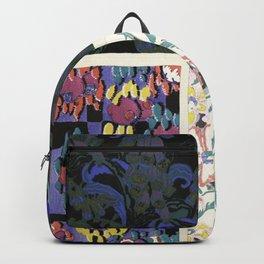 Art Deco vintage pattern design Backpack