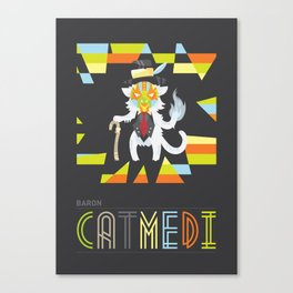 Baron Catmedi Canvas Print