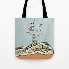 WALK ON THE OCEAN Tote Bag