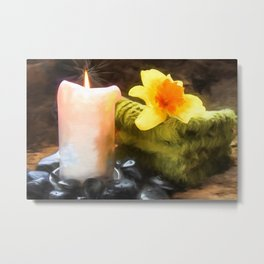 Spa Day Metal Print
