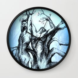 Holding you for Eternity Wall Clock