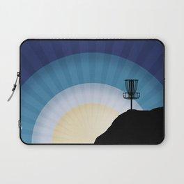 Basket On A Mountain Laptop Sleeve