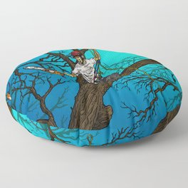 Tree Surgeons Floor Pillow