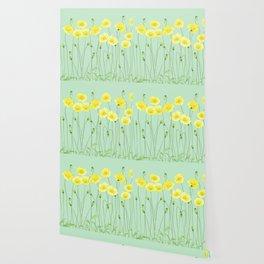 Yellow Wildflowers II Wallpaper
