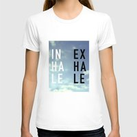 2pac T-shirts featuring Inhale Exhale by Text Guy