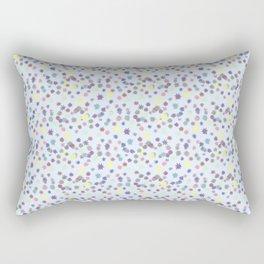star light blue pat. Rectangular Pillow