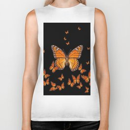 WORLD OF MONARCH BUTTERFLIES Biker Tank