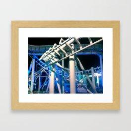 coaster madness Framed Art Print