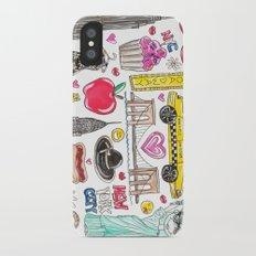 I Love NYC iPhone X Slim Case