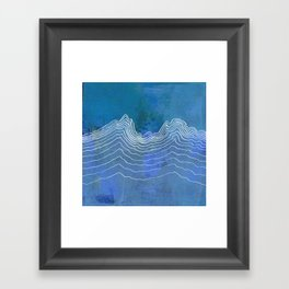 Linear No. 8 Framed Art Print