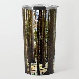 Rainbow Swamp Travel Mug