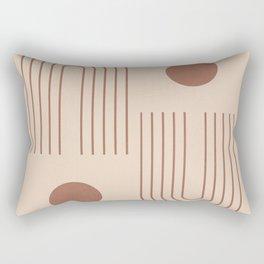 Minimal Geometric 72 Rectangular Pillow
