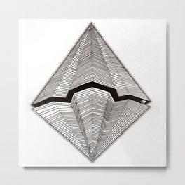 Diamond Ship Metal Print