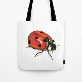 Ladybug Beetle Tote Bag
