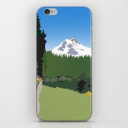 Mt Hood Meadows Hike iPhone Skin