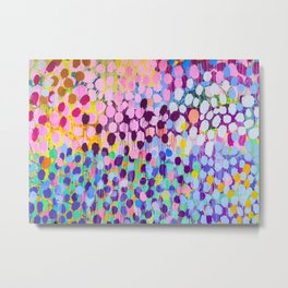 Paint dots Metal Print