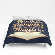 Books are magic Comforters