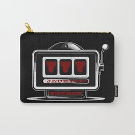 Jackpot Sevens Slots concept logo graphic Carry-All Pouch