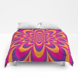 Infinite Flower Comforters