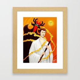 Samurai Jack Framed Art Print