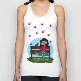 Spring Song Unisex Tank Top
