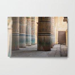 temple column Metal Print