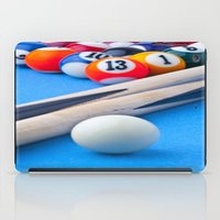 gaming iPad Cases featuring Gaming Table by Valerie Paterson