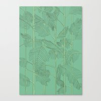 palms Canvas Prints featuring Palms by Robert Høyem