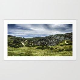 Cantabrian Mountains Art Print
