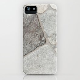 Natural Stone Wall iPhone Case