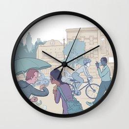 Street Time Wall Clock