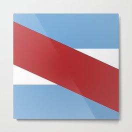 Flag of Entre rios Metal Print