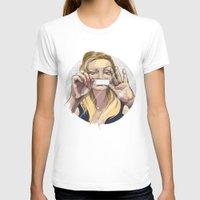 silent T-shirts featuring Silent by Katarzyna Urbaniak