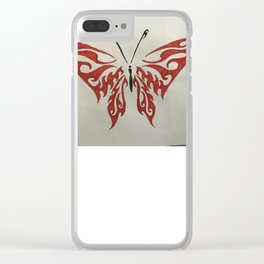 Valletyn butherfly Clear iPhone Case