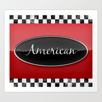 american Art Prints featuring American by politics