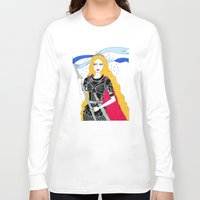 justice Long Sleeve T-shirts featuring Justice by Alxndra Cook